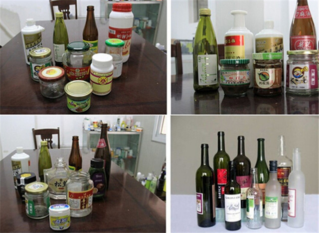 Application of labeling machine round bottle labeler: