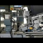 Automatic C shaped Clamshell Labeling Machine
