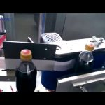 Automatic Cola Bottle Labeling Machine