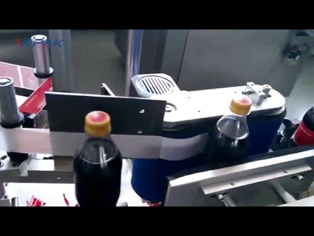Automatic Cola Bottle Labeling Machine