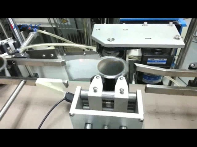 Automatic Cone Cup Double Two Or One Sticker Label Applicator