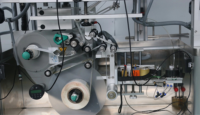 Automatic Double Sides Top and Bottom Sticker Labeling Machine Details