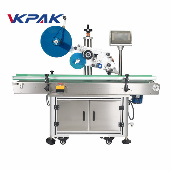 Automatic Flat Surface Top Labelling Machines For Cartons Boxes