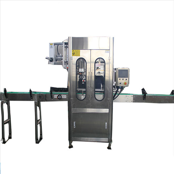 Automatic High Speed Bottle Shrink Sleeve Labeling Machine