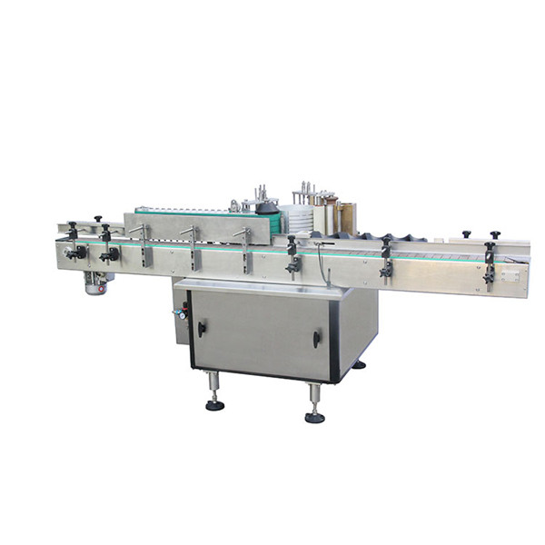 Automatic Linear Round Bottles Cold Paste Wet Glue Labeling Machine