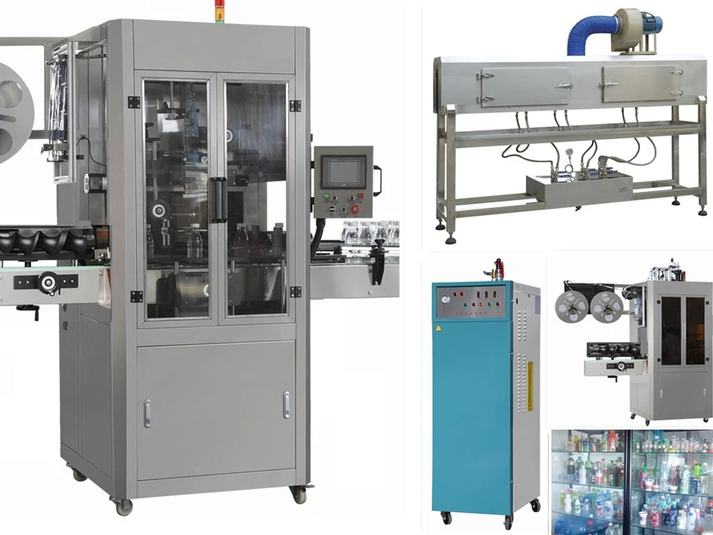 Automatic Mineral Water Bottle Shrink Sleeve Labelling Machine
