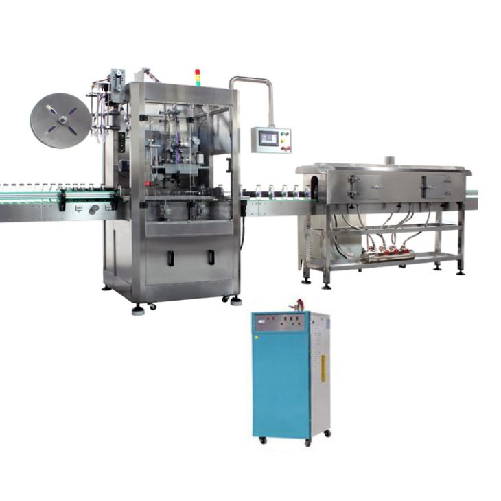 Automatic PVC Shrink Sleeve Bottle Labeling Machine