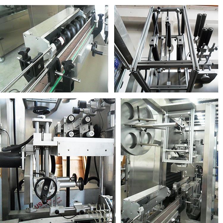 Automatic Plastic Water Juice Bottle Heat Shrink Sleeve Labeling Machine