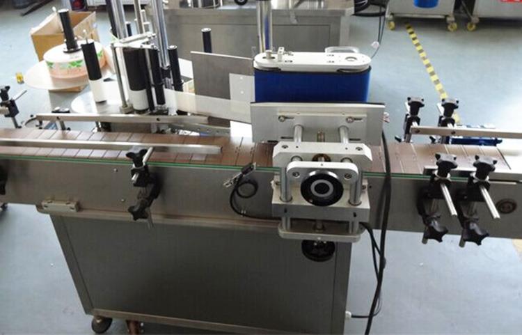 Automatic Round Bottle Adhesive Sticker Labeling Machine