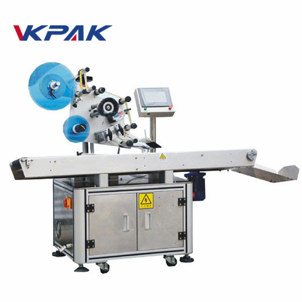 Automatic Top Surface Plane Adhesive Flattening Labeling Machine