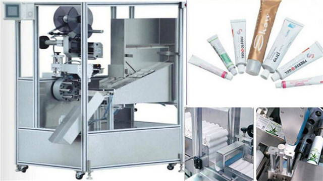 Automatic Tube Labelling Machine For Paste Cream Lotion Tubes Details