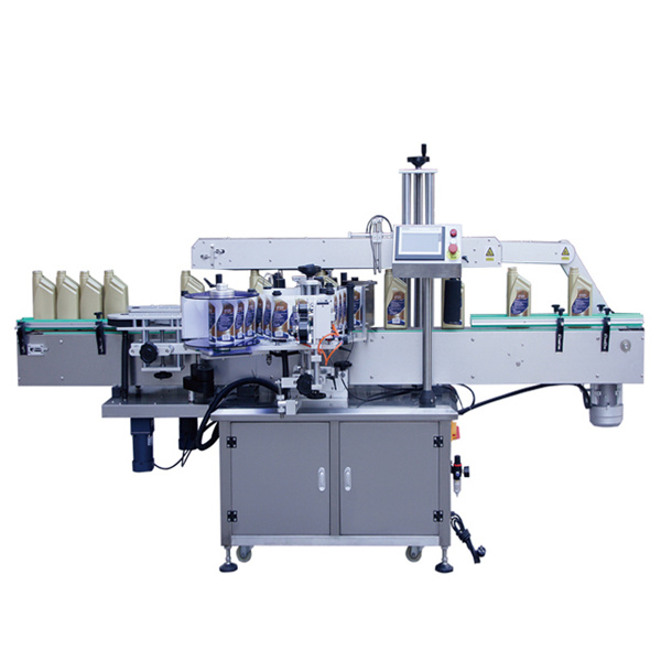 Automatic Two Side Front And Back Sticker Labeling Machine