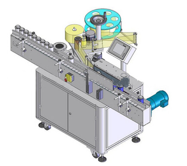 Automatic Vertical Round Bottle Labelling Machine