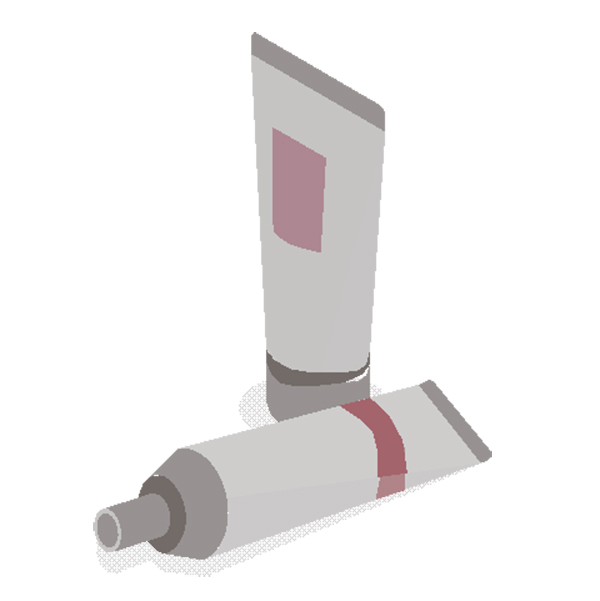 Cosmetic Tube Packaging Labels