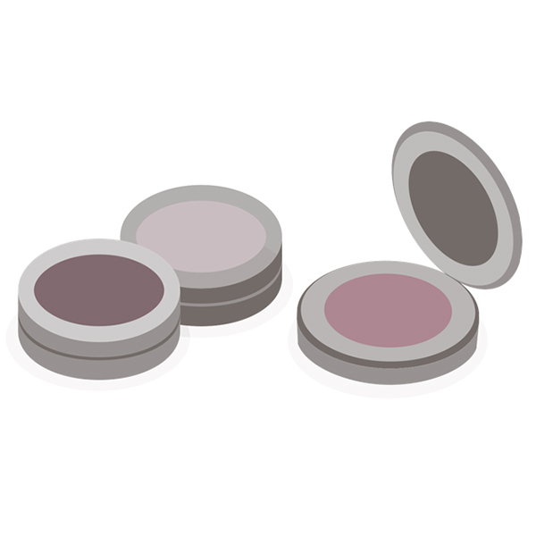 Cosmetics Compact Labels