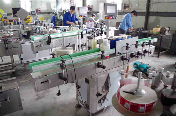 Double Sided Non-Sticker Labeling Equipment For Plastic Glass Bottles Details