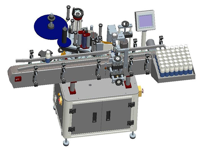 Drawing of labeling machine