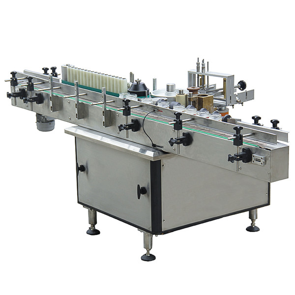 Full Automatic Plastic Glass Bottle Jar Cold Glue Labeling Machine
