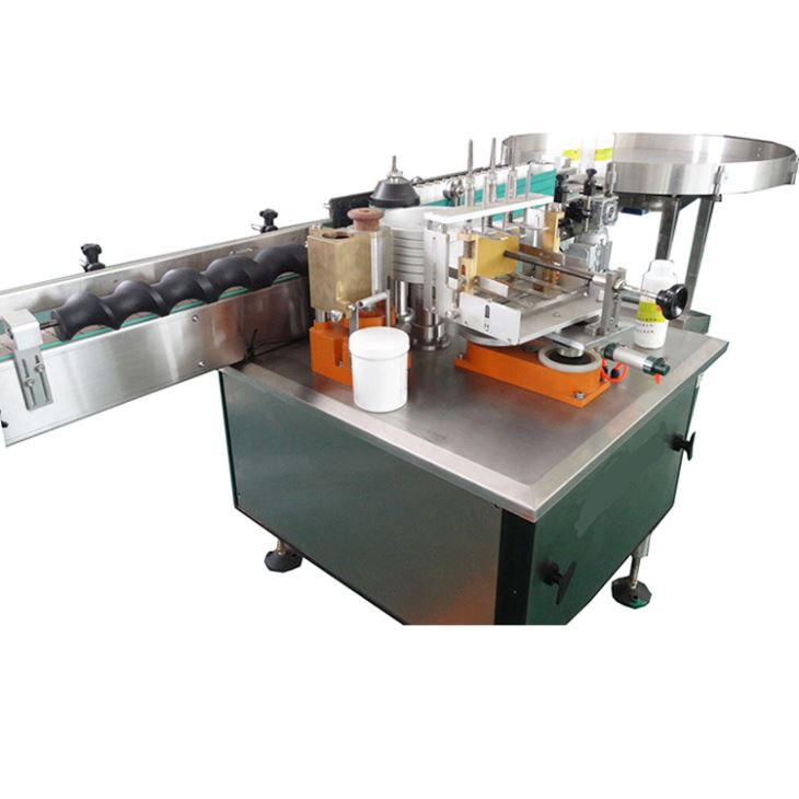 Full Automatic Wet Glue Paper Label Labeling Machine for Alcohol Product