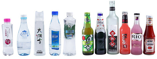 Fully Automatic High Speed Rotary PET Plastic Bottles Labelling Machine Types of bottle