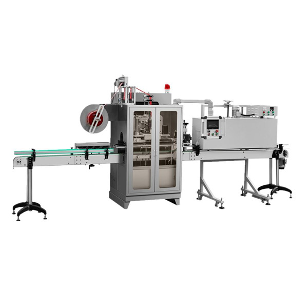 Fully Automatic Jars Glass Bottles Sleeve Shrink Labelling Machine