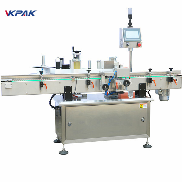 Fully Automatic Positioning Vertical Round Bottle Labeling Machine