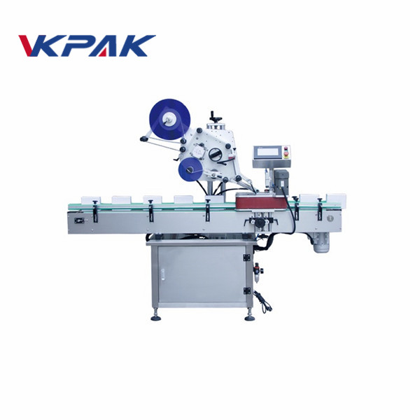 High Accuracy Automatic Box Top Flat Labeling Machine