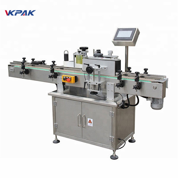 High Quality Automatic Plastic Round Bottle Labeling Machine