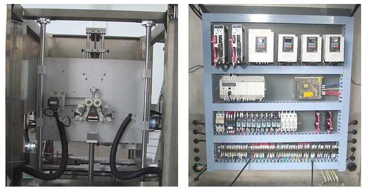 High Speed Full Automatic PVC Sleeve Shrink Applicator Labeling Machine