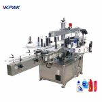 High Speed Pneumatic Automatic Double Side Flat Bottle Labeling Machine