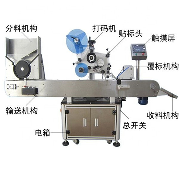 Hot Sale Automatic Sticker Labeling Machine for Mini Bottle