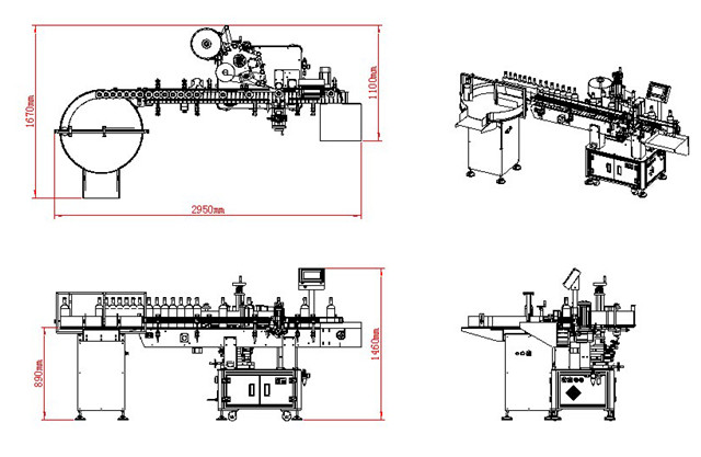 Machine Structure Drawing