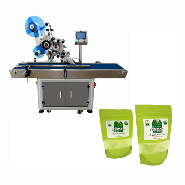Pouch-Labeling-Machine