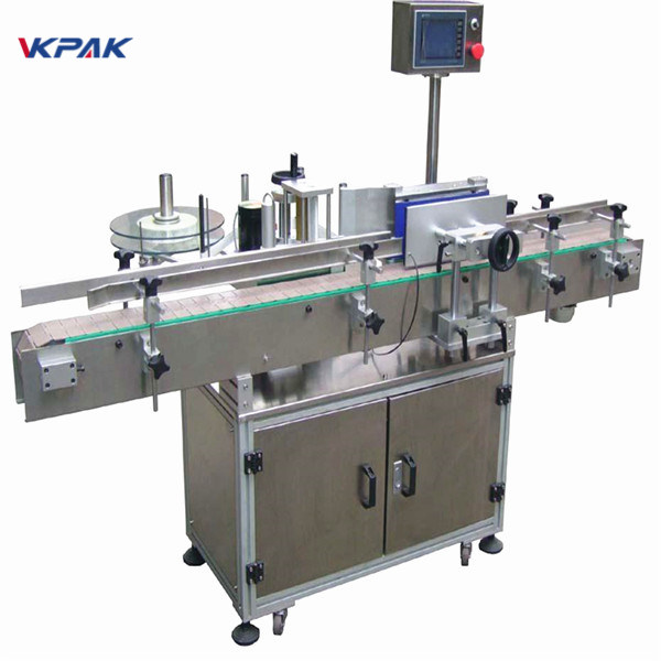 Professional Manufacturer Industrial Round Jar Labeling Machine