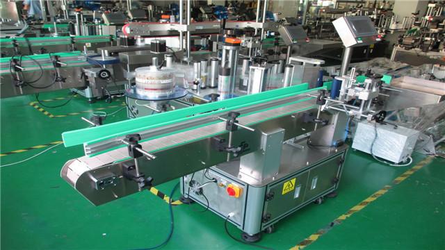 Round bottles labeling machines