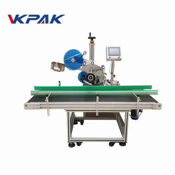 Scratch Card Paper Auto Top Labeling Machine